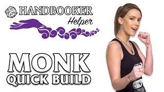 Handbooker Helper: Monk (Quick Build)