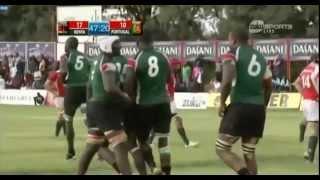Kenya Vs Portugal Os Lobos (The Wolves) 2015 Test Match
