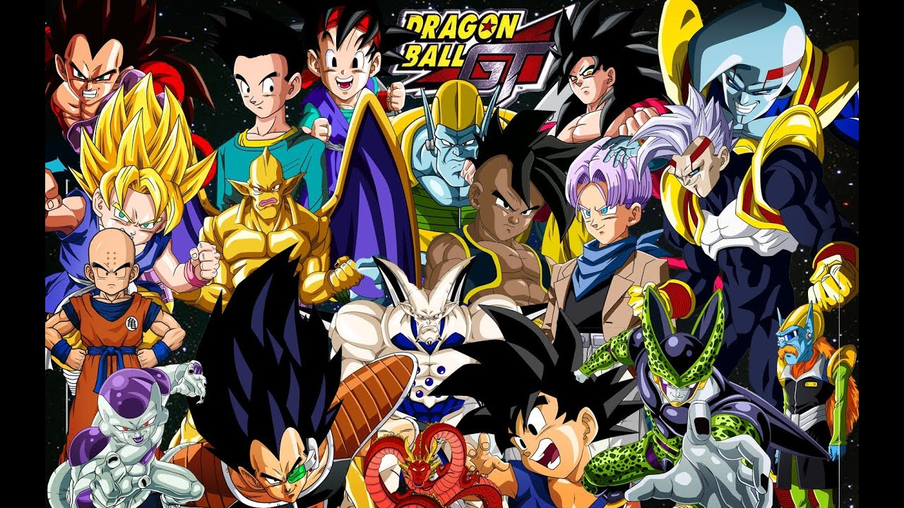 Speed Art Photoshop Cs5 Wallpaper Dragon Ball Gt Youtube