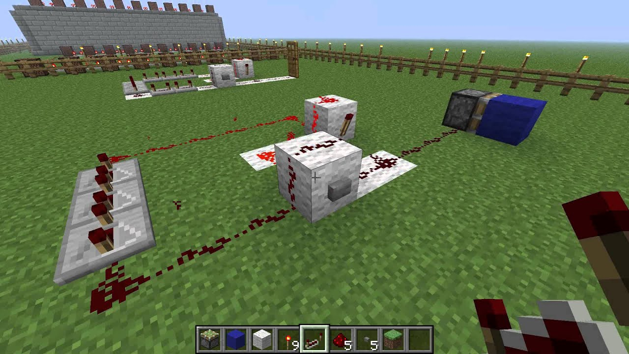 Monostable Circuit Minecraft Circuits How To Make A In Youtube