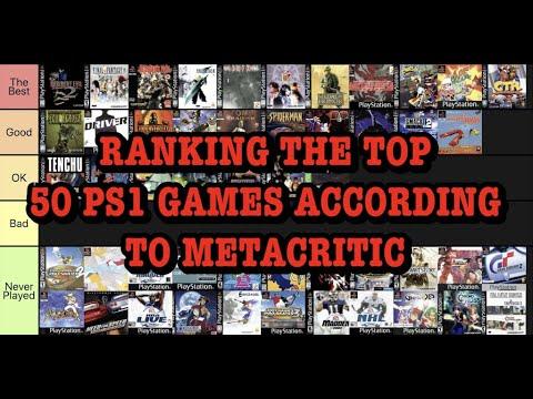 Tier Lists: Top 50 PS1 Games According to Metacritic