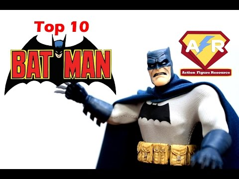 Top 10 Batman Action Figures (JUST Batman!)