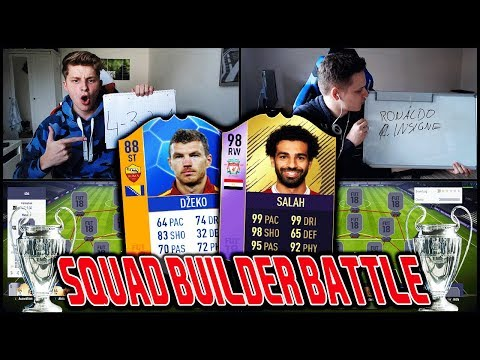 Witzigstes Champions League LIVERPOOL vs ROM Squad Builder Battle! 😱😱 Fifa 18 Ultimate Team