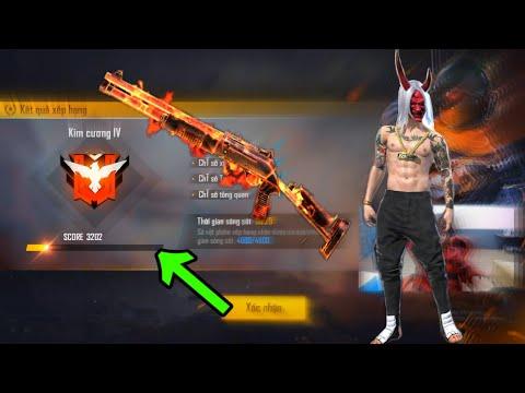 [ Highlight Free Fire ] Shotgun Onehit Heshot Cuối Mùa '' M1887 '' - Kelly Gaming TV
