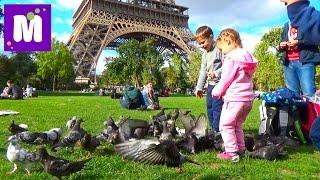 Париж День 7 экскурсия на автобусе к Эйфелевой Башне Big Bus Tour  in Paris(7 Париж (Франция), покатаемся на двухэтажном автобусе по самым известным достопримечательностям Парижа:..., 2015-09-26T15:57:51.000Z)