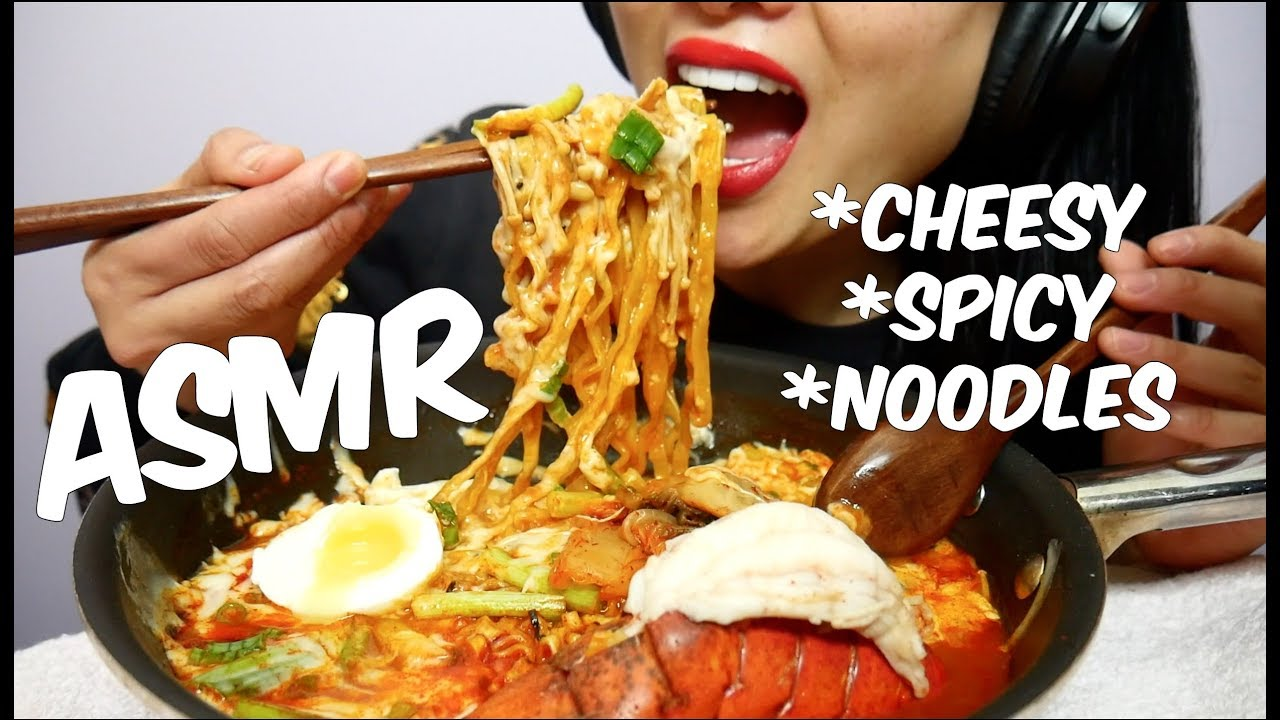 Asmr Cheesy Lobster Korean Fire Noodles Stew Type Eating Sounds No Talking Sas Asmr Youtube Not just any videos, asmr videos. asmr cheesy lobster korean fire noodles stew type eating sounds no talking sas asmr