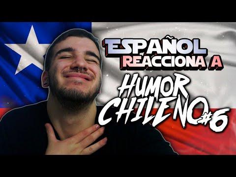 ESPAÑOL REACCIONA  A HUMOR CHILENO #6 😂