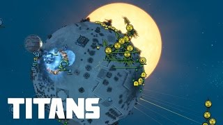 Planetary Annihilation Titans - 3v3v3 Annihilation Plans | Multiplayer Gameplay
