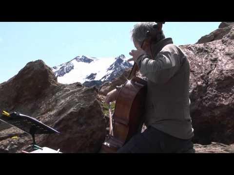 Mario Brunello - Bach Cello Suite No.1 (live at 2700 m slm)