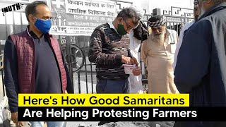 Here's How Good Samaritans Are Helping Protesting Farmers