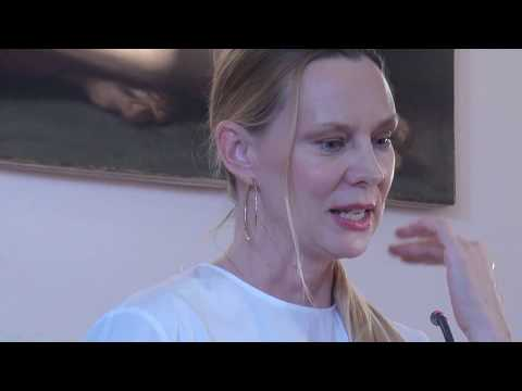 A Poetry Event at the Athens Centre with poet Ginger Zaimis - Part 2