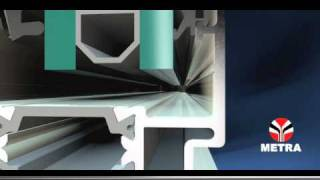 Finestre in alluminio Metra - come riconoscere il prodotto Metra (it)