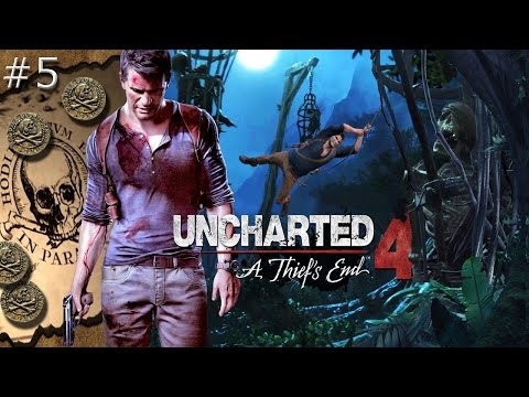 "Uncharted 4 A Thief's End Walkthrough Gameplay Part 5 ""Soft Cheese!"""