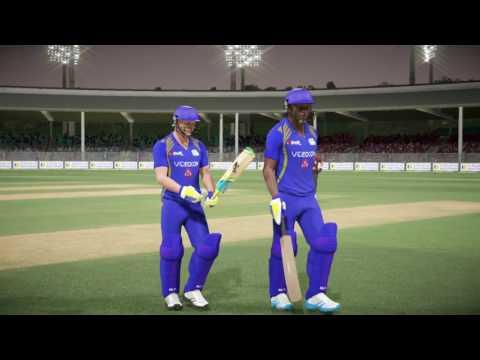 Don Bradman Cricket 17 |PSL v IPL| Lahore Qalanders v Mumbai Indians