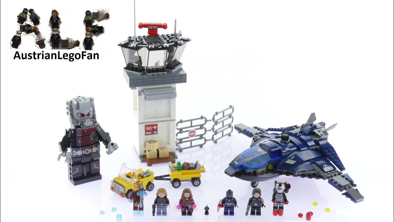 Lego Super Heroes 76051 Super Hero Airport Battle - Lego Speed Build Review