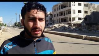 النظام يواصل الحملة العسكرية  على حي الوعر