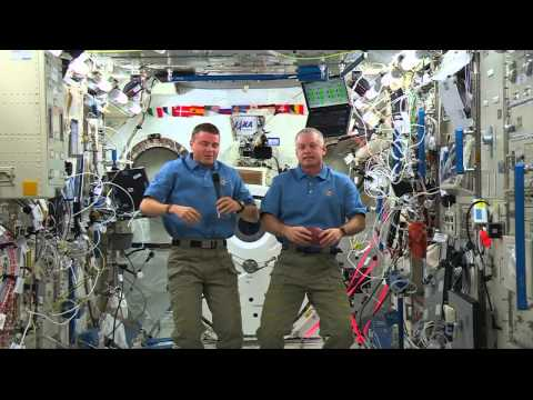 Space Station Crew Discusses Life in Space with Mississippi Students