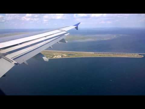 Landing in Copenhagen Airport, Øresund Bridge, SAS Airbus A321, 2015