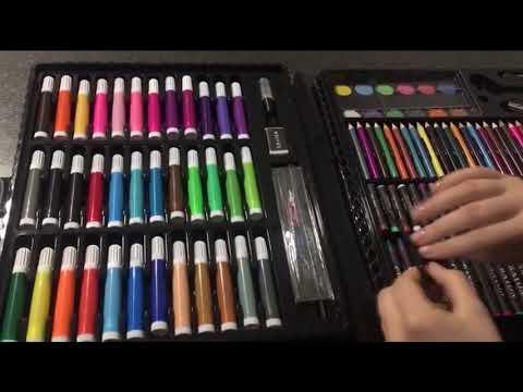 Детский набор для рисования в чемоданчике   Обзор online video cutter com