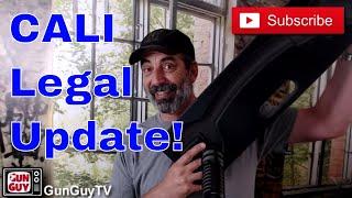 California Legal Update & Bump Stocks