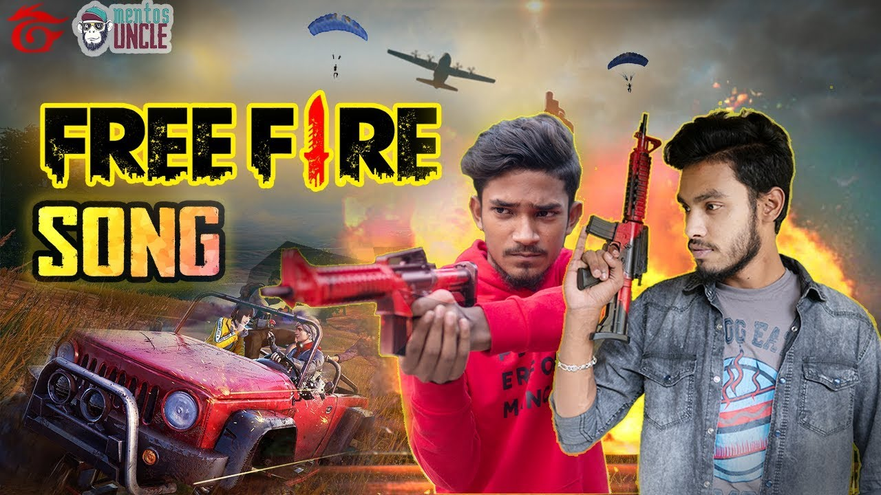 Free Fire Song ফ র ফ য র স Funny Free Fire Gameplay Song Garena Free Fire Official Video Youtube