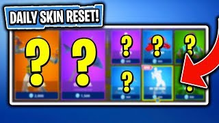 BRAND NEW EMOTE! Daily Item Shop In Fortnite: Battle Royale! (Skin Reset #166)