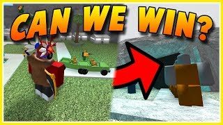 PLAYING AGAINST **NOOBS** IN TOWER BATTLES! (ROBLOX)