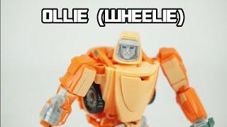 X-Transbots MM-15+ Ollie (aka Wheelie)