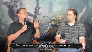 Battle for Azeroth Live Developer Q&A 6/14/2018