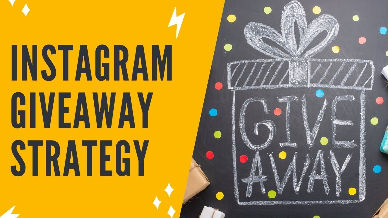 HOW TO RUN A SUCCESSFUL GIVEAWAY ON INSTAGRAM