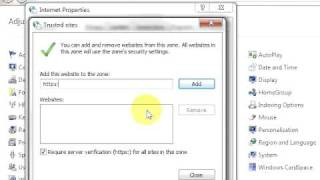 SSL Certificate Error Fix