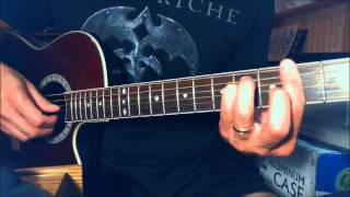 RUSH - Best Riffs guitar lessons 3 - The Trees Classical intro