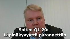 Solteq Q1'20: Läpinäkyvyyttä parannettiin avaamalla segmenttien luvut