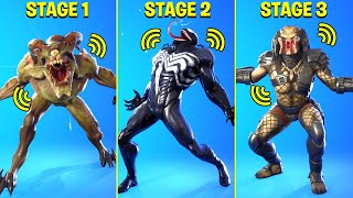 Legendary Fortnite Dances & Emotes Evolved! #6 (Predator's Bio-helmet, We Are Venom, TikTok Dances)