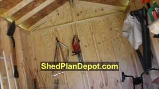 Shed Plan Review From Shedplandepot.com - Easy To Use Shed Plans
