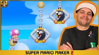 Super Mario Maker 2: Endless Expert #3: No Skips, Endless Trolls!