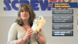 Screwfix - DeWalt Workboots, Scuffs and Site Safety