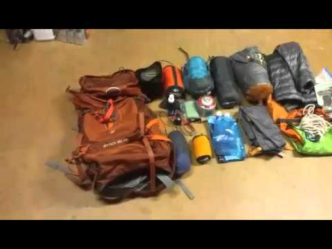 8c57dd6bf0ba 23 pound (including food) lightweight backpacking gear overview (updated gear  list)