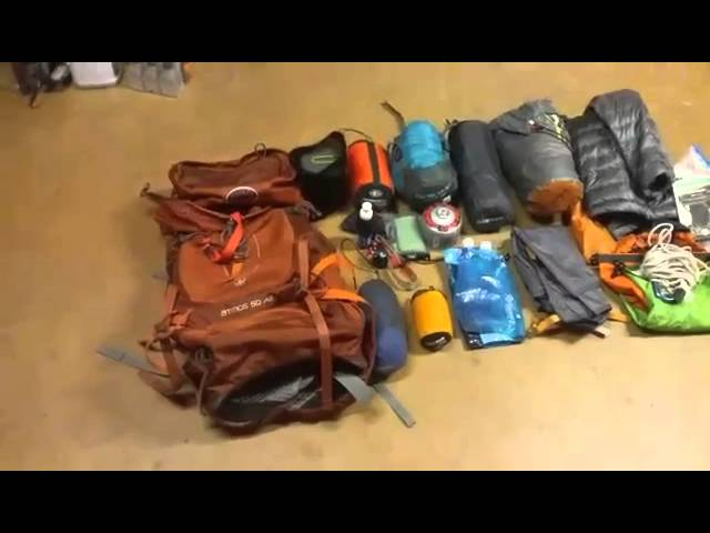 23 pound (including food) lightweight backpacking gear overview (updated gear list)