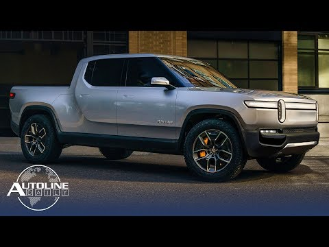 Ford Invests in Rivian, LED Headlamps Increasing CO2 - Autoline Daily 2580