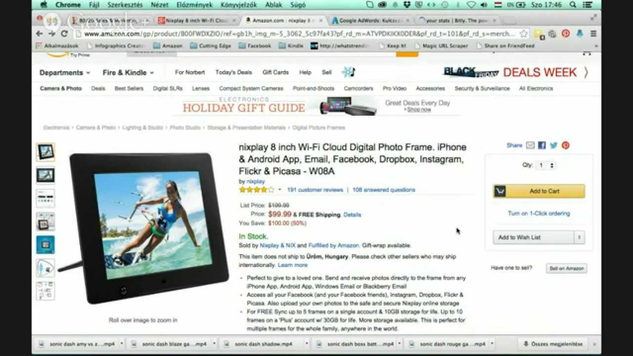 Nixplay 8 inch wi fi cloud digital photo frame review now 50 off nixplay 8 inch wi fi cloud digital photo frame review now 50 off jeuxipadfo Choice Image