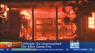 Number Missing After Camp Fire Continues To Drop
