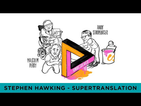 Stephen Hawking's Black Hole Theory: Supertranslations - A Cognitive Whiteboard Animation