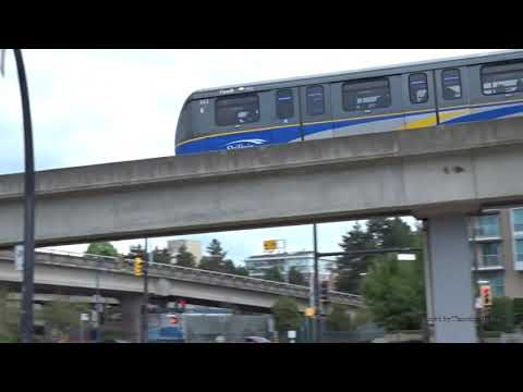 The Skytrain Of Vancouver, Canada 2019