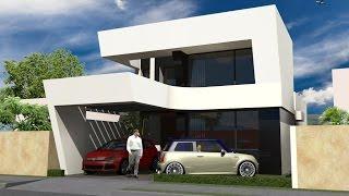 casa moderna m2 pequena