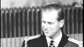 """Selected originals (offcuts, scenes, out-takes, rushes) for story """"prince philip at the mansion house"""" 57/18.various c/u shots of mr michael parker,..."""