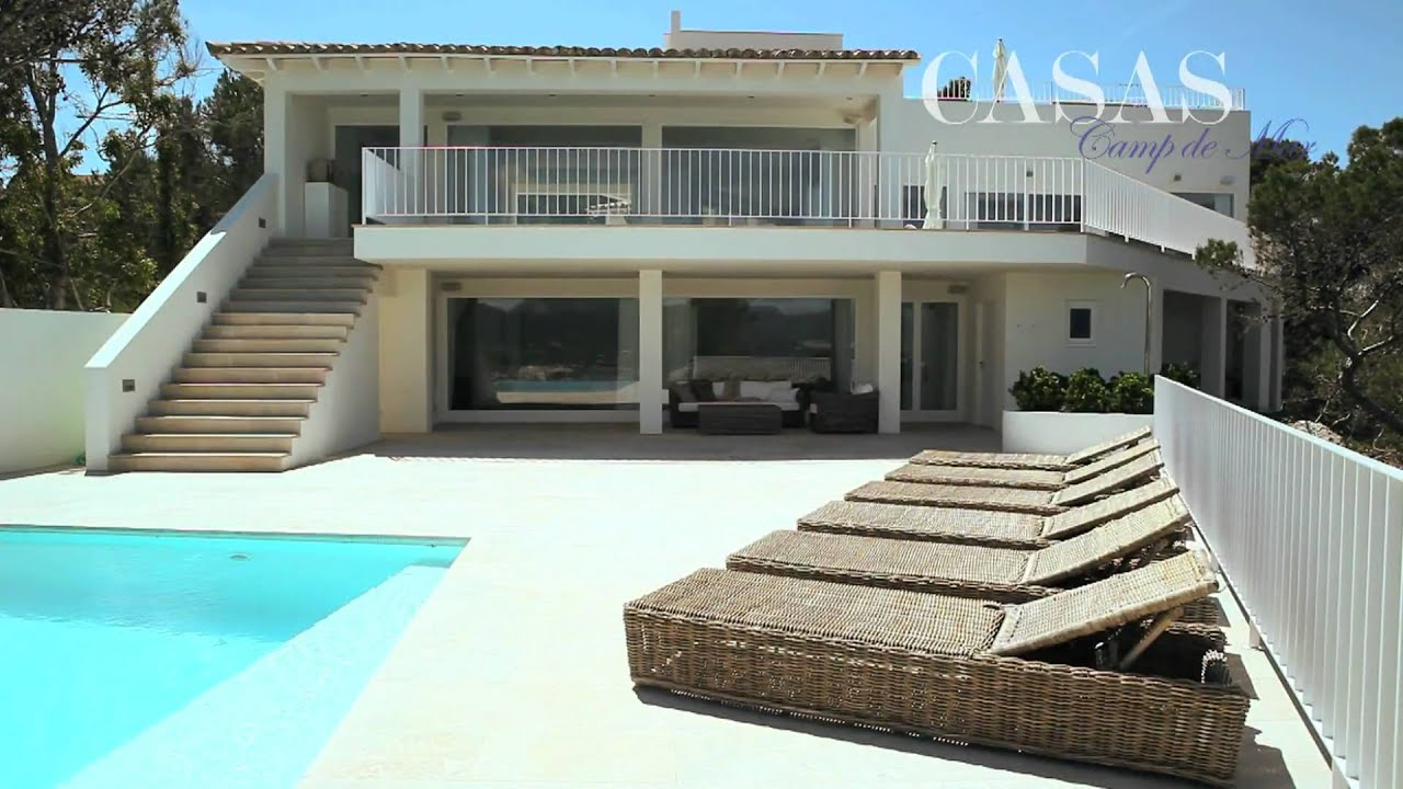 immobilien mallorca luxus villa mit fantastischem meerblick in puerto andratx youtube. Black Bedroom Furniture Sets. Home Design Ideas