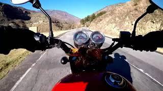 Bhutan Bike Ride in the Himalayas  Royal Enfield TB350x  Beautiful Roads, Breathtaking Mountains