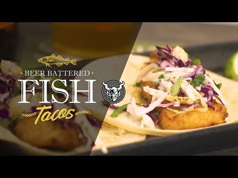 Tangerine Express Beer Battered Fish Tacos