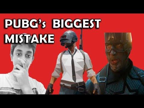 PUBG's Biggest mistake!! | science in 5 min #6 | marvel | kovaiclub